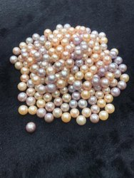 Loose Pink Color Freshwater Pearl