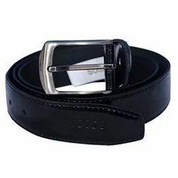Woodland BT 1041004 Black Men's Leather Belt