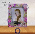 Stone Golden Printed Glass Photo Frame, For Gift
