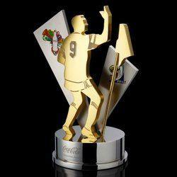 Football Event Brass Metal Trophy