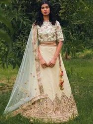 Exclusive Embroidery Bridal Lehenga Choli By Parvati Fabric (76651)