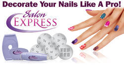 Salon Express Nail Art Tool, Purple