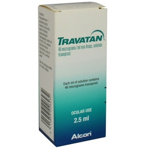Travatan Eye Drops, For Personal, Rs 725 /1 unit Nusight Pharmaceutical  Private Limited | ID: 19460077255
