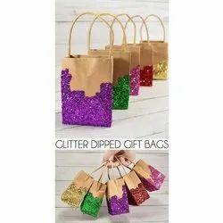 Glitter Paper Gift Bag