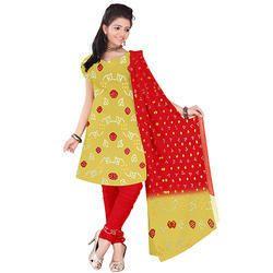 Fancy Print Bandhej Suit