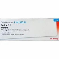 Berirab P 300 Iu Injection Rabies Immunoglobulin Hrig