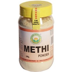Basic Ayurveda Methi Herbal Powder, Packaging Size: 200g