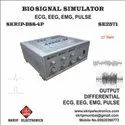 Bio-signal Simulator Educational, Research, Calibration, Study
