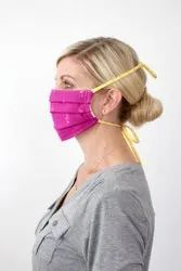 OEM Reusable TIEABLE FACE MASK, Number of Layers: Double Layer And Single Layer