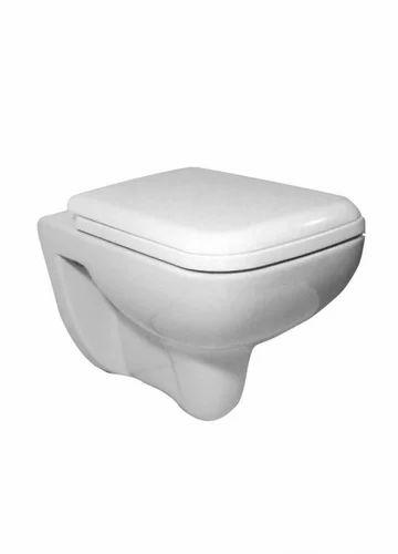 White Ceramic Onyx Wall Hung Ewc Rs 5500 Piece Jaaz