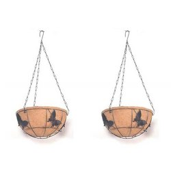 COIR GARDEN Decorative Coir Hanging Basket