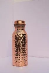 pooja Polished Copper Water Bottle950 Ml, Capacity: 1 Litre Aproxx