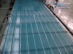 Blue Profiled Fibre Roofing Sheets, 2mm