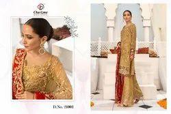 Charizma Mahrukh Limited Edition Georgette Pakistani Salwar Kameez