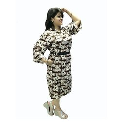 Heavy Rayon Party Wear Middy Gown