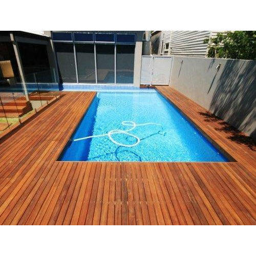 Pool Side Ipe Wooden Deck 90 140 145 Mm Rs 425 Square Feet Kunal Interiors Id 17694260033