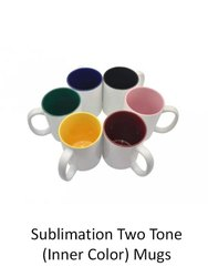 Koncept Sublimation Two Tone Mugs Inner Color