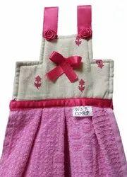 NNR Check Designer Cotton Kitchen Hanging Towels