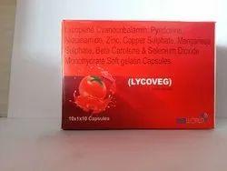 Lycopene Cyanocobalamin Pyridoxine Niacinamide Zinc Sulphate Soft Gelatin Capsules