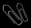Oddy Paper Clips Streamlined Nickel Plated Rust Proof