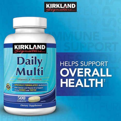 Kirkland mature multi vitamins share your opinion