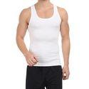 Mens Plain Cotton Vest