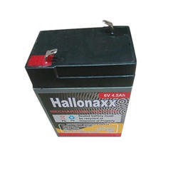 6V 4.5Ah Hallonaxx Rechargeable Battery, Warranty: 6 months