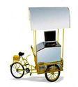 Ice Cream Push Cart With 110 L Freezer On Wheel