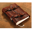 Soft Leather Strap Journal