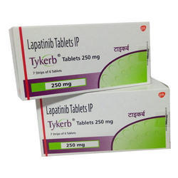 Lapatinib Tablets IP, Packaging Size: 30 Tablet Bottle, 250 Mg