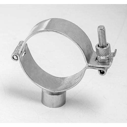 Stainless Steel Hinged Pipe Clamp