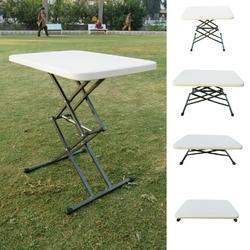 Variable Height Table- White