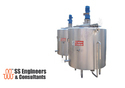 Multipurpose Vat Heating And Cooling Tanks