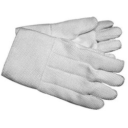 Heat Resistant Asbestos Hand Gloves, Size: Medium & Large