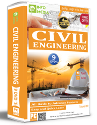 Civil Engineering Software Learning DVD In Tamil