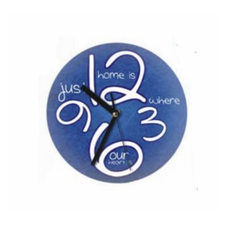 Photo Glass Clock