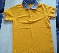 Plain Polo Neck Matty T Shirt