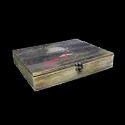 Custom Shape Size Design Wooden Boxes Laser Engraving Wood Type