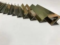 Stainless Steel 304 Color Coated Patty T Shape Profiles