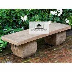 Elegant Sandstone Bench