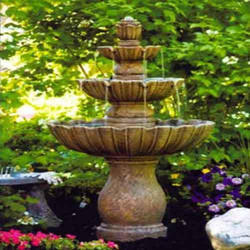 Stone Crafted Water Fountain