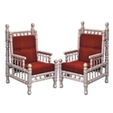 Red Wood Sankheda Chair