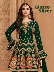 Glazzo Silver Ladies Suit By Am Fashion