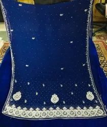 Dot Exports Georgette Stone Work Party Saree