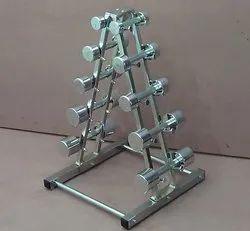 Round Iron IMI-2854 Dumbbells Set (1kg To 5kg)
