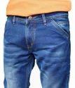 Mens Solid Denim Jeans