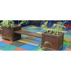 Decorative Cement Bench