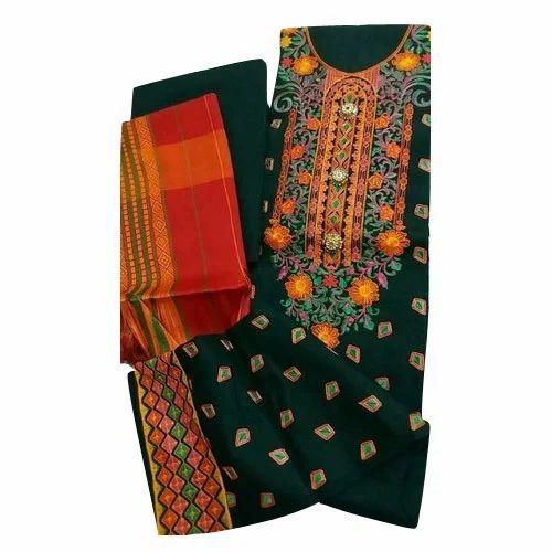 d6820f40c6 5 Meter Unstitched Punjabi Suits Material, Rs 1200 /piece   ID ...