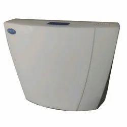 White Single Flush PVC Flushing Cisterns, for Toilet