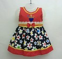 Multicolored Cotton Frock